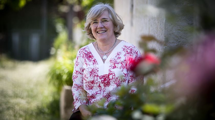 A Diretora do Secretariado Nacional das Comunicações Sociais da Igreja, Isabel Figueiredo. Foto: Joana Bourgard/RR