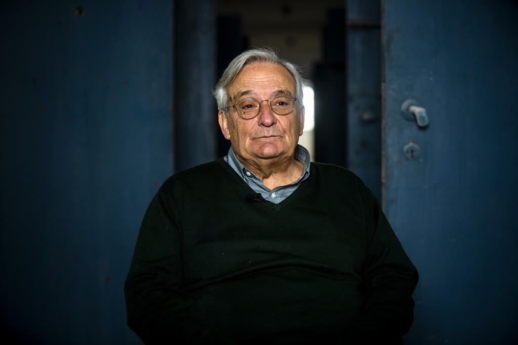 O historiador Fernando Rosas. Foto: Joana Bourgard/RR