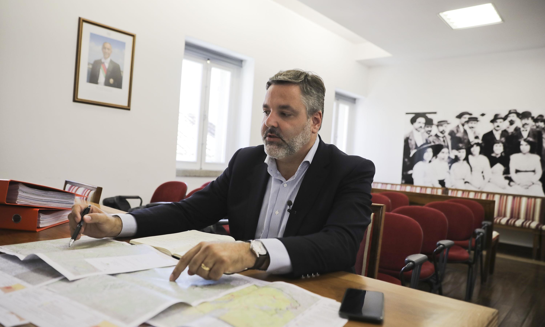 Rui André, presidente da Câmara de Monchique.