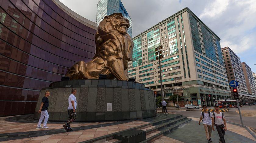 Portugal transferiu a soberania de Macau para a China em 1999. Foto: Aleksandar Plaveski/EPA