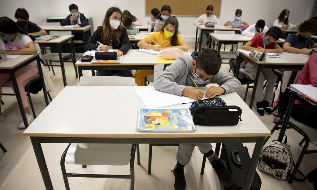 Escolas estão encerradas devido às medidas de contenção à Covid-19. Foto: Joana Bourgard/RR