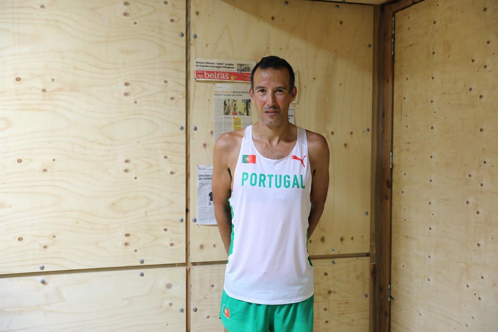 João Vieira já equipado à portuguesa. Foto: Inês Braga Sampaio/RR