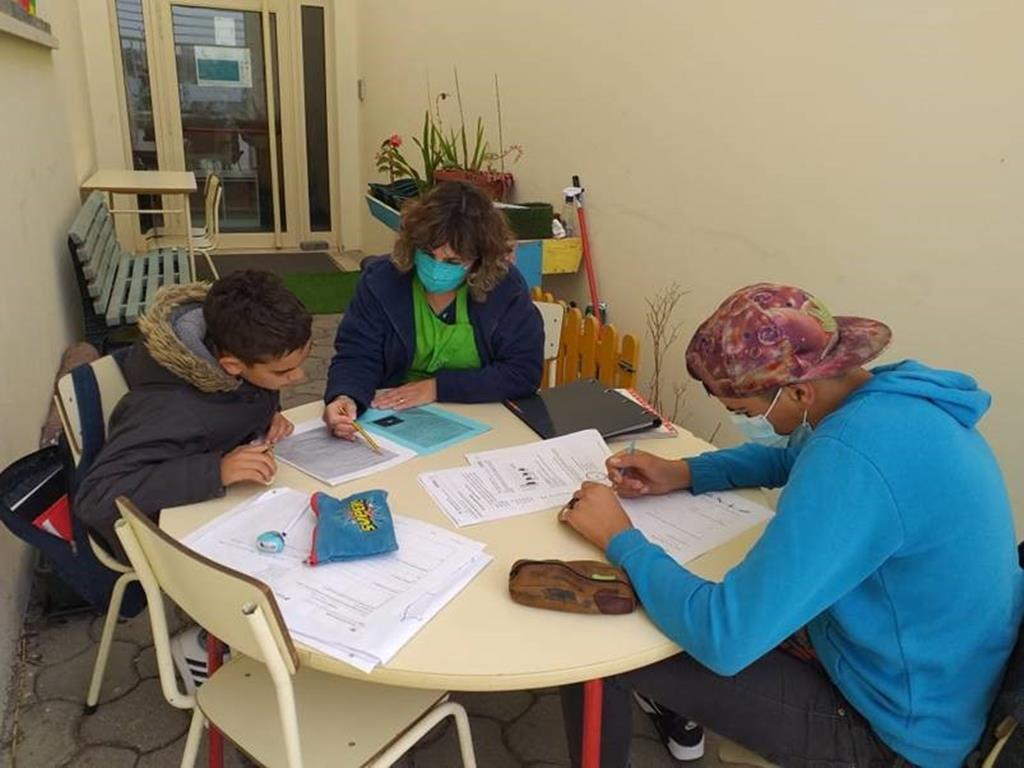 Centro Comunitário Nossa Senhora da Boa Viagem, na Leirosa, ajuda crianças ciganas. Foto: DR