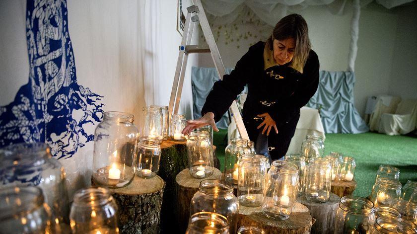 Homenagem às vítimas dos incêndios de 17 de Junho, em Castanheira de Pera