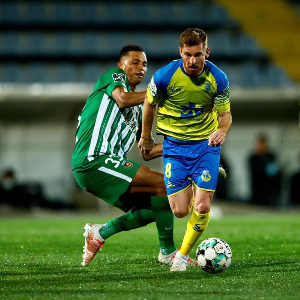 Arsénio marcou seis golos e fez seis assistências em meia época. Foto: Arouca