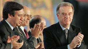 """António Guterres: """"Jorge Sampaio, sempre"""""""