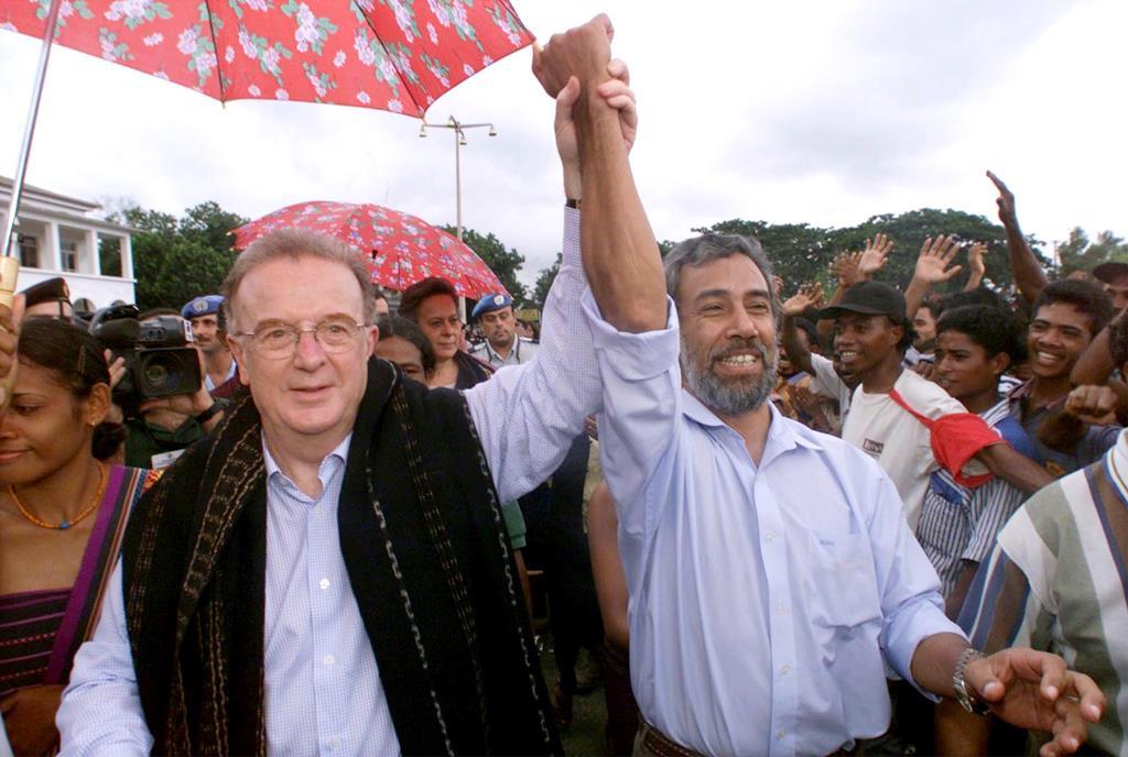 Jorge Sampaio em Dili para uma visita de três dias a Timor-Leste Foto: Reuters