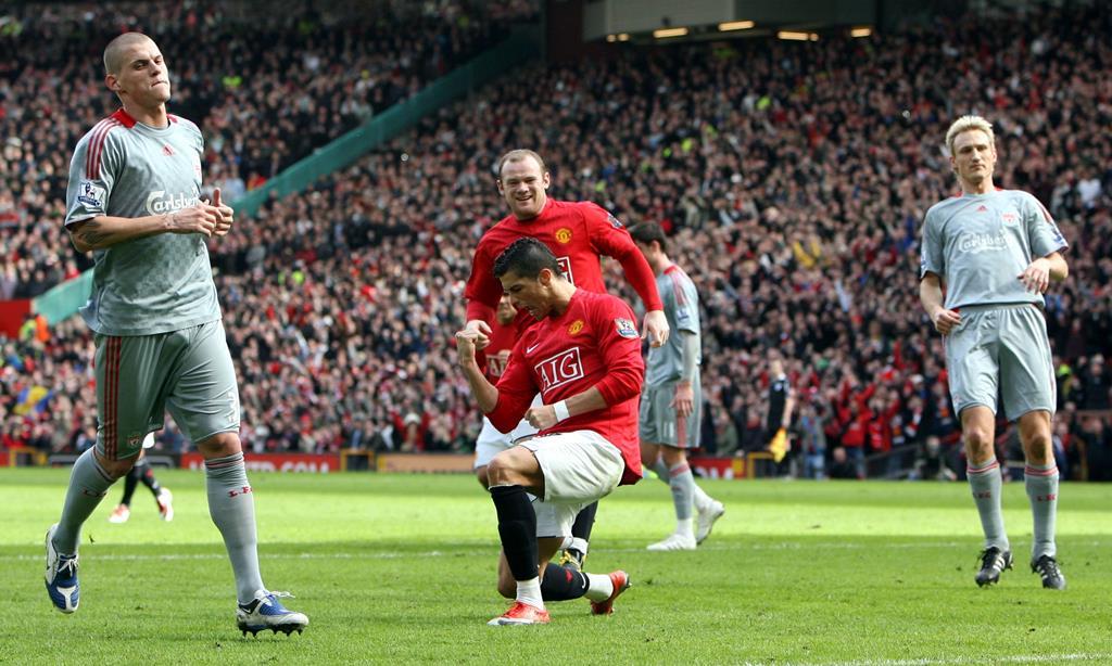 Cristiano Ronaldo e Rooney foram colegas de equipa no Manchester United. Foto: Carl Recine/Action Images/Reuters
