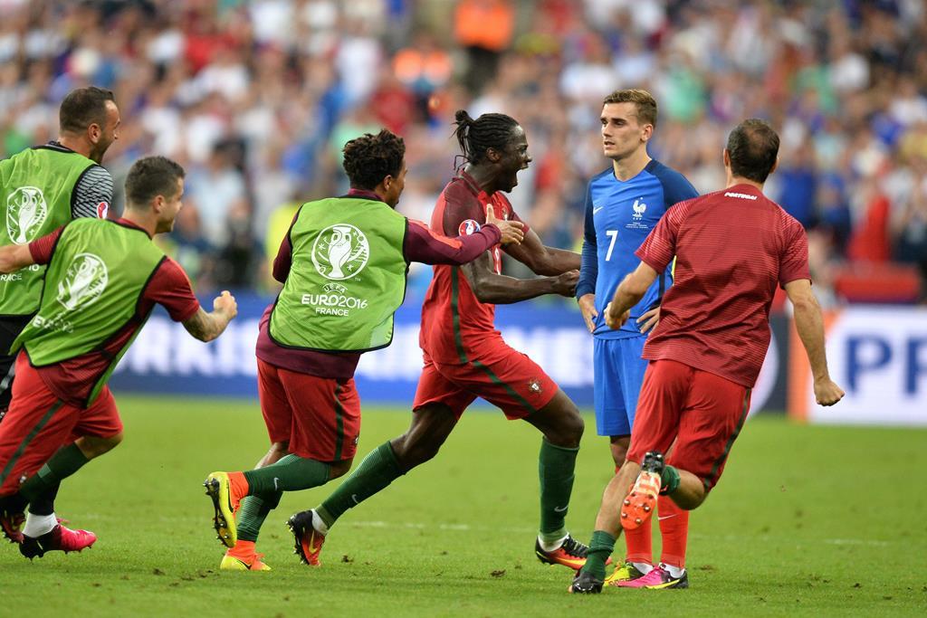 Há cinco anos, Portugal exultou de alegria. Éder marcou e o país celebrou. Foto: Panoramic/Reuters