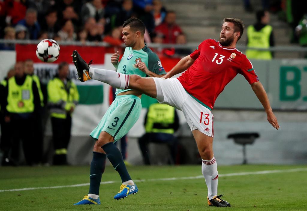 Portugal tenta melhorar o resultado de 2016 frente à Hungria. Foto: Laszlo Balogh/Reuters