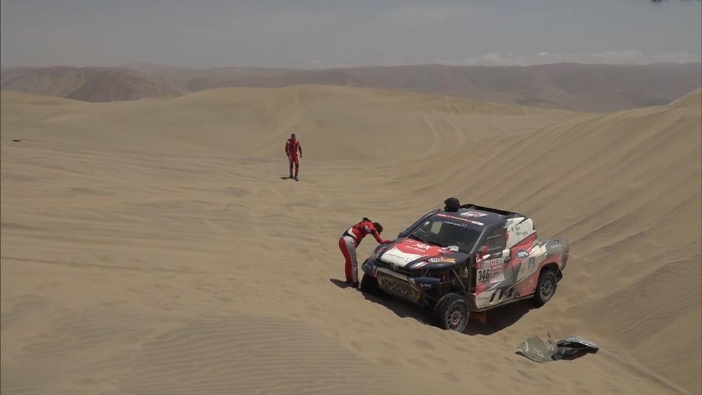Villas-Boas espera poder voltar a correr num Dakar Foto: DR