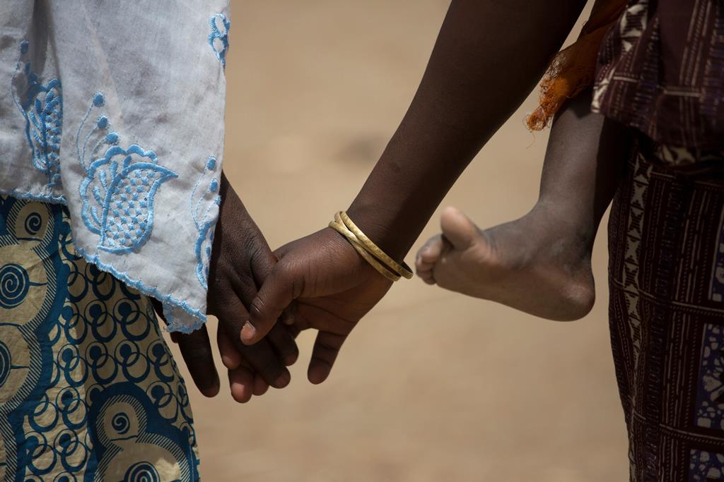 28 crianças libertadas na Nigéria. Foto: Karel Prinsloo/UNICEF/Reuters