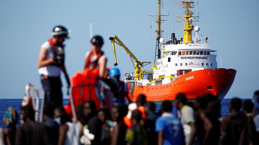 Aquarius tem provocado estragos na política europeia. Foto: Reuters