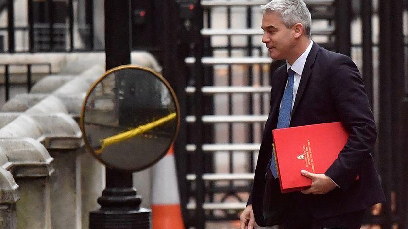 Stephen Barclay é o terceiro ministro para o Brexit do Governo May. Foto: Toby Melville/Reuters