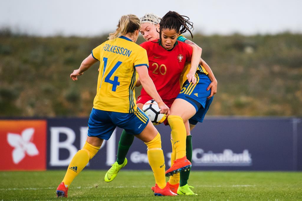 Jéssica Silva vai jogar nos Estados Unidos Foto: Ludvig Thunman/Reuters