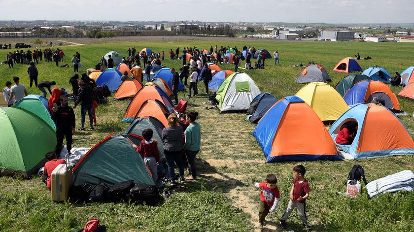 """""""A Grécia não está totalmente fechada, mesmo não tendo muitas condições continua muito aberta"""". Foto: Alexandros Avramidis/Reuters"""