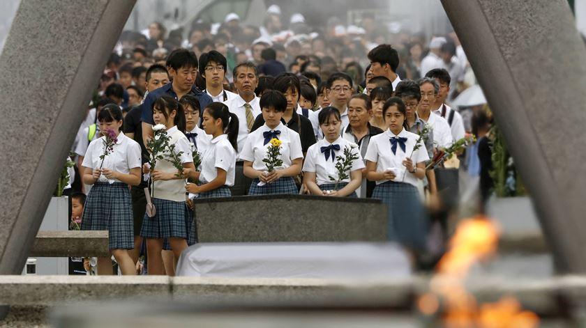 Papa Francisco visitará Hiroshima e Nagasaki. Foto: Kyodo/Reuters