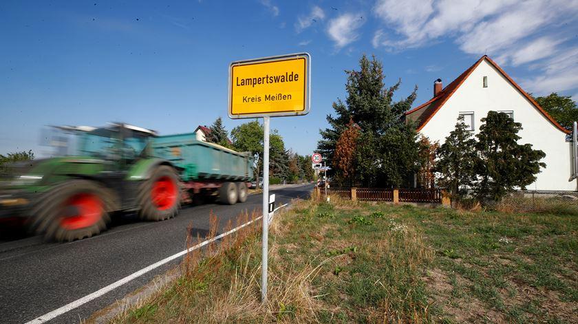 Paisagem rural no leste da Alemanha, na cidade de Lampertswalde. Foto: Wolfgang Rattay/Reuters