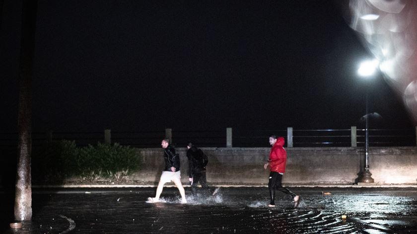 Chuva intensa em Charleston, Carolina do Sul. Foto: Reuters / USA TODAY NETWORK