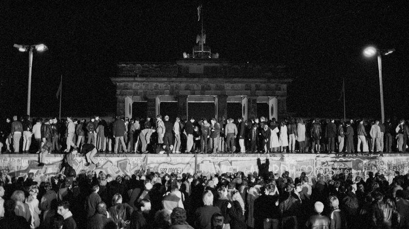 Marcelo recorda noites sem dormir pela queda do Muro de Berlim. Foto: Fabrizio Bensch/Reuters