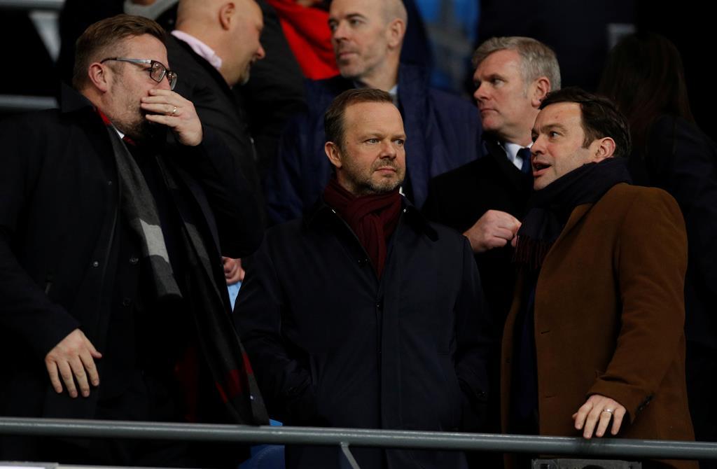 Ed Woodward gere as operações no Manchester United. Foto: Phil Noble/Reuters