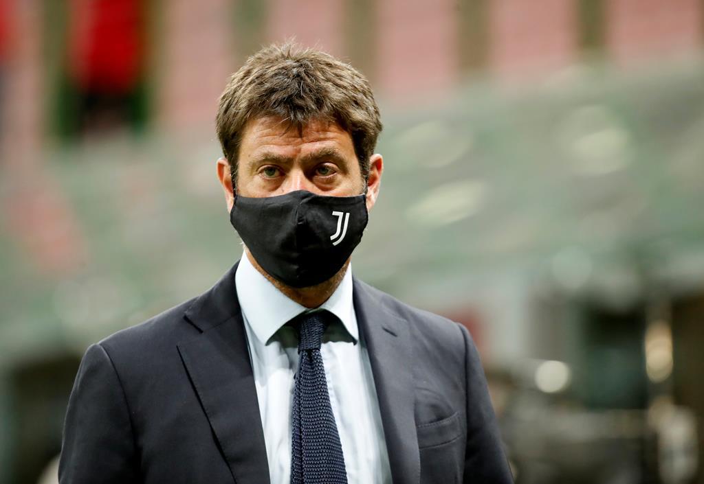 Andrea Agnelli, presidente da Juventus, é uma das mentes por trás da Superliga Europeia. Foto: Alessandro Garofalo/Reuters