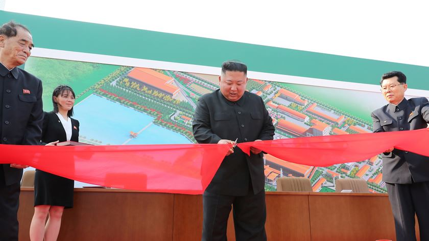 Coreia do Norte volta a estar em pé de guerra com o Sul. Foto: KCNA/Reuters