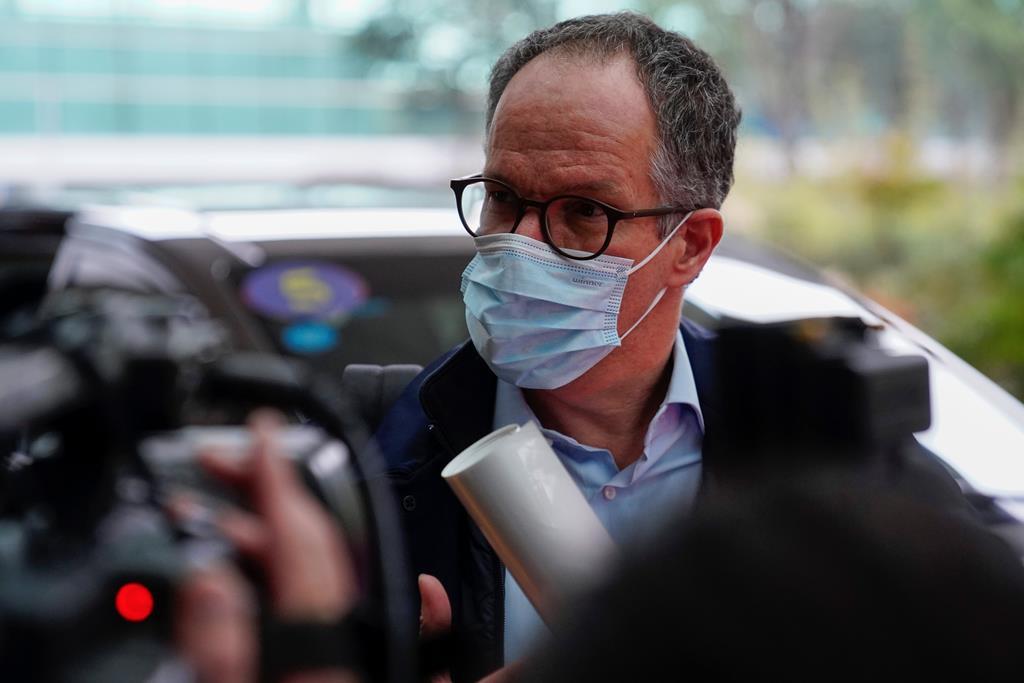 Peter Ben Embarek, especialista em segurança alimentar e responsável pela missão da OMS na China. Foto: Aly Song/Reuters