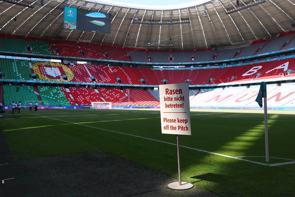 """Portugal volta a jogar """"em casa do inimigo"""", na Alemanha. Foto: REUTERS/Kai Pfaffenbach"""