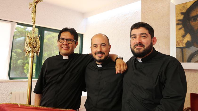 Seminaristas do Seminário Redemptoris Mater, que vão ser ordenados em 2018, em Lisboa. Foto: Patriarcado de Lisboa