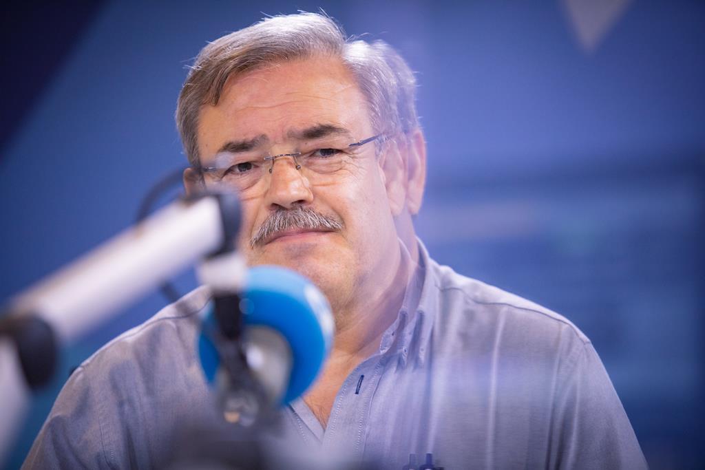 Américo Monteiro, da Liga dos Operários Católicos. Foto: Miguel Rato/RR