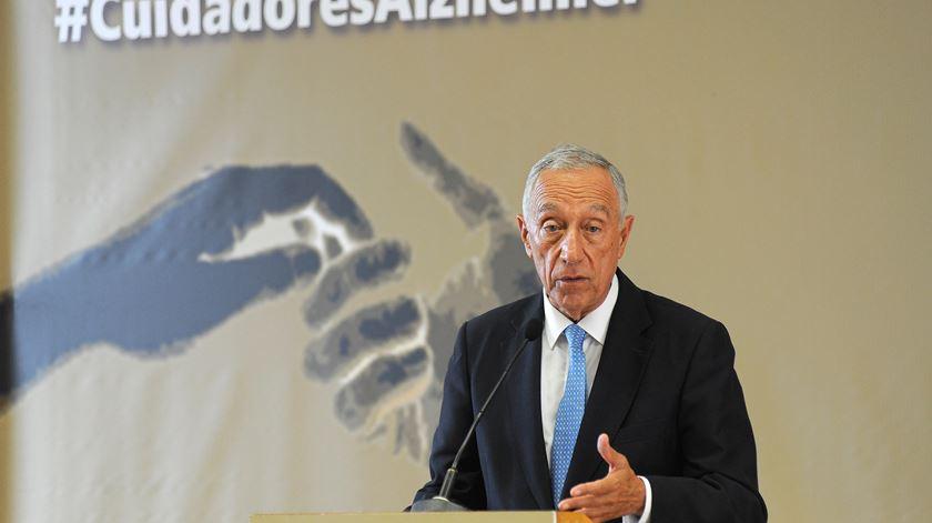 Marcelo Rebelo de Sousa. Foto: Fernando Veludo/Lusa
