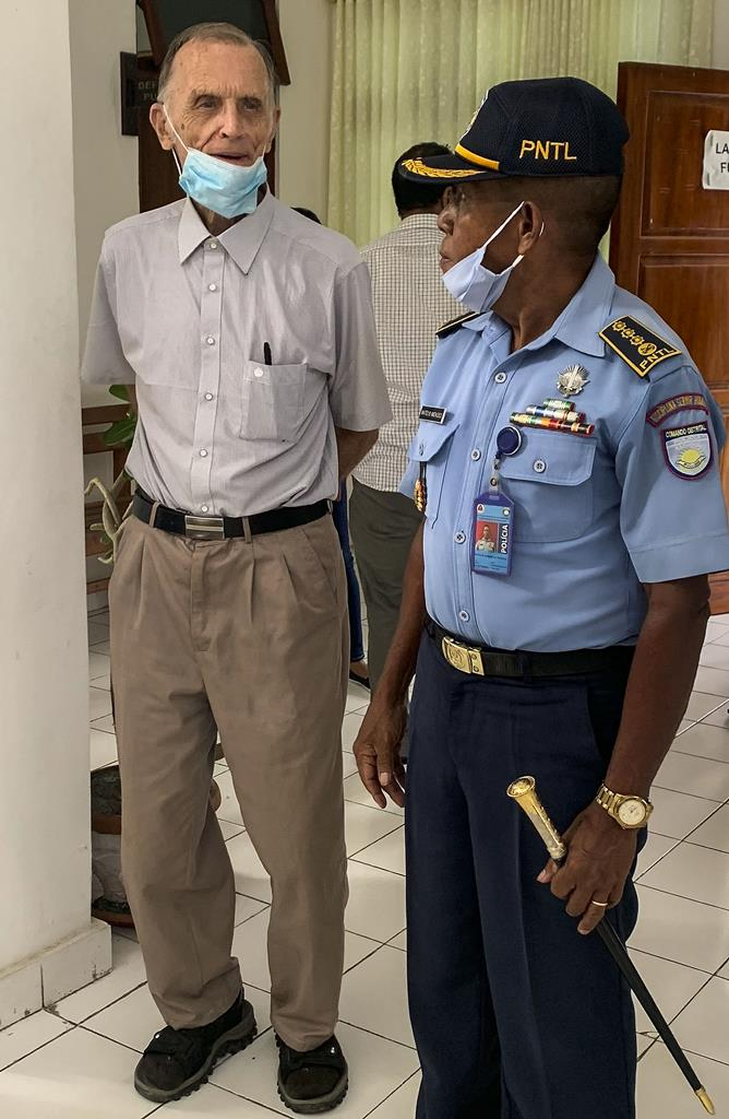 Julgamento de Richard Daschbach, ex-padre acusado de pedofilia em Timor-Leste. Foto: Timor-leste/Lusa