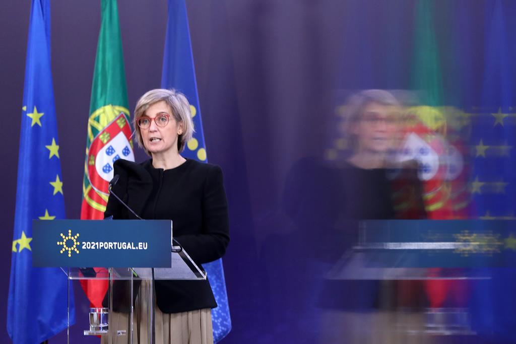 Ministra Marta Temido vai presidir à reunião. Foto: Antonio Pedro Santos/Lusa