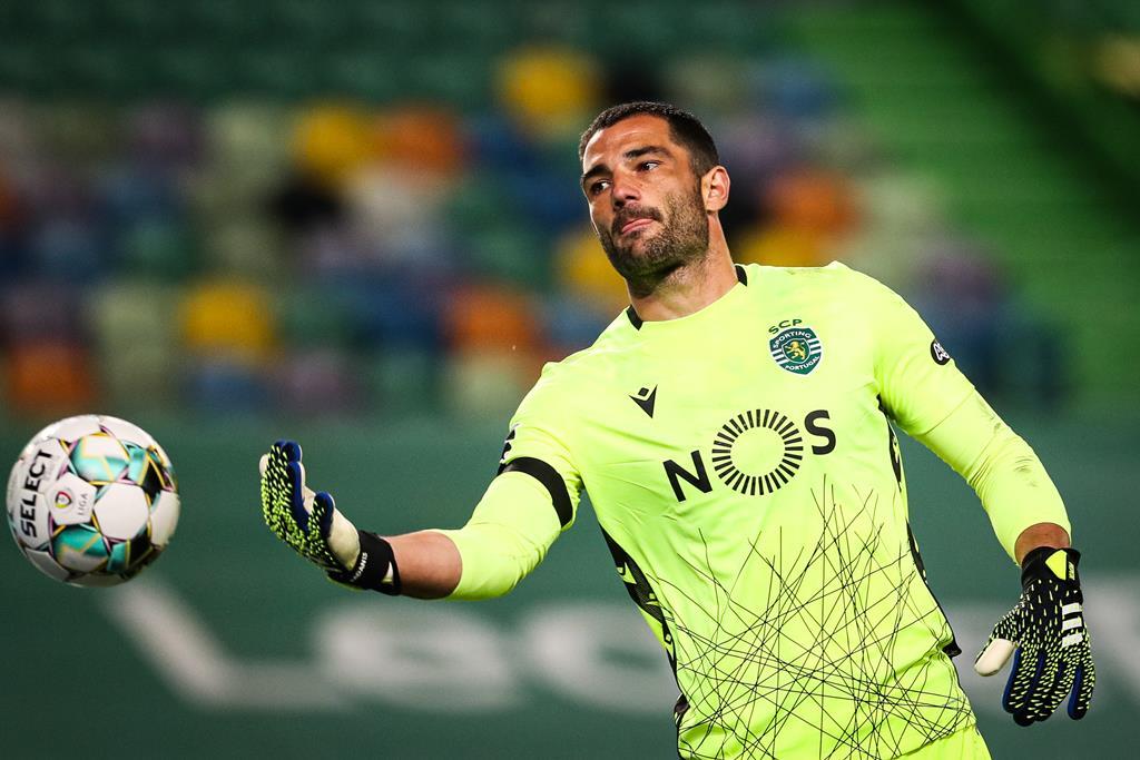Adán, Sporting. Foto: José Sena Goulão/Lusa