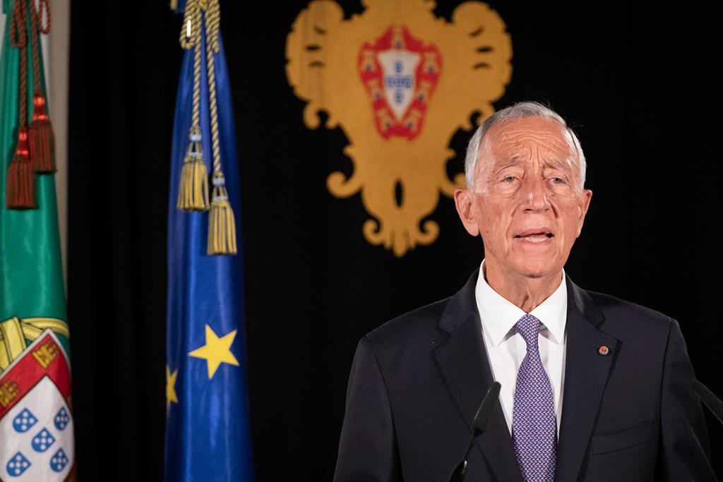 Marcelo Rebelo de Sousa anuncia mais um estado de emergência. Foto: Rui Ochôa/Lusa