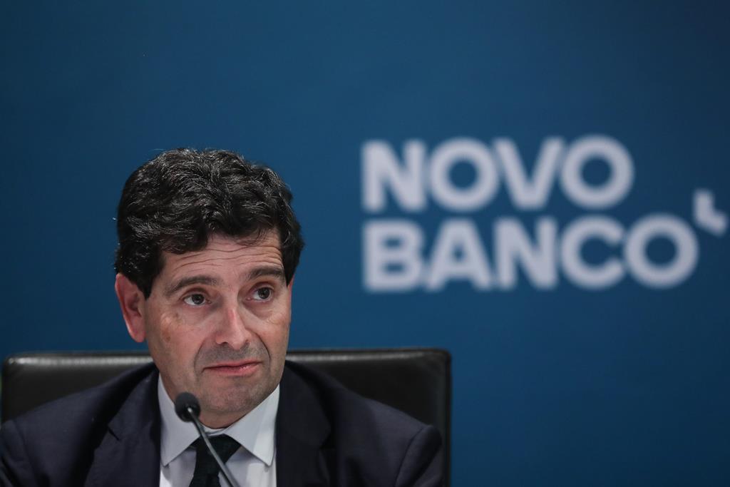 António Ramalho, diretor executivo do Novo Banco. Foto: António Cotrim/Lusa