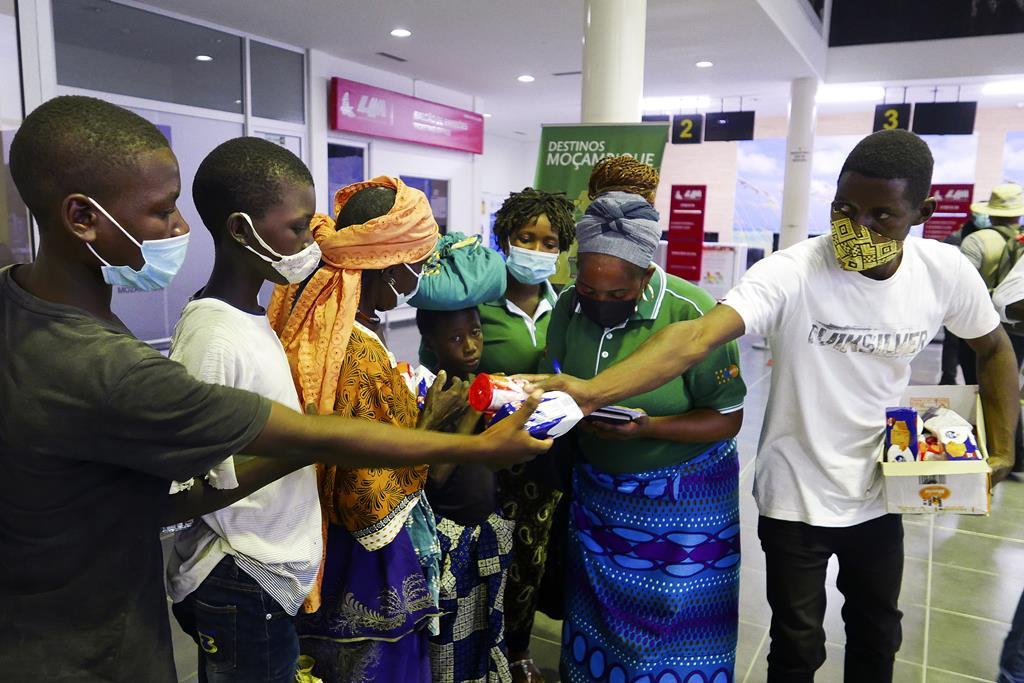 Refugiados em Moçambique dependem de ajuda alimentar. Foto: Luis Fonseca/EPA