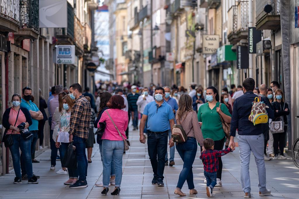 Braga é um dos concelhos a recuar. Foto: Hugo Delgado/Lusa
