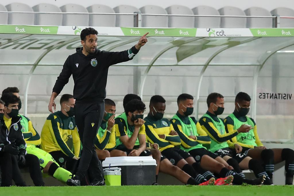 Sporting tem quatro pontos de vantagem para o FC Porto. Foto: José Coelho/Lusa