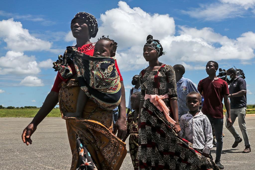 Deslocados dos ataques em Cabo Delgado. Foto: João Relvas/Lusa