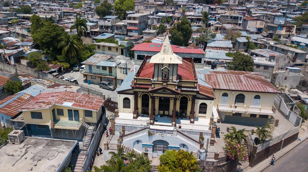Igreja de Saint Antoine, em Port-au-Prince. Foto: Jean Marc Herve Abelard/EPA