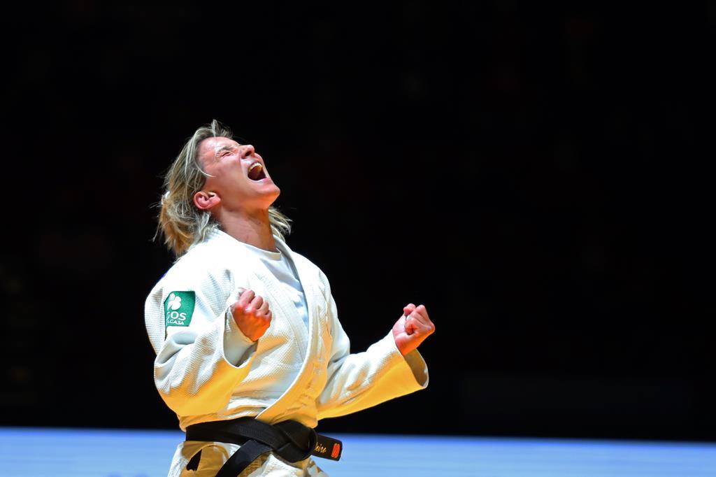 Telma Monteiro quer continuar a vencer. Foto: Nuno Veiga/Lusa