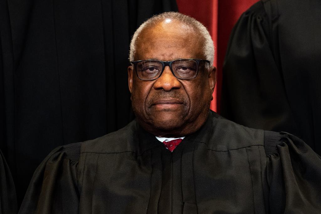 Clarence Thomas, juiz do Supremo Tribunal dos Estados Unidos. Foto: Erin Schaff/Pool/EPA