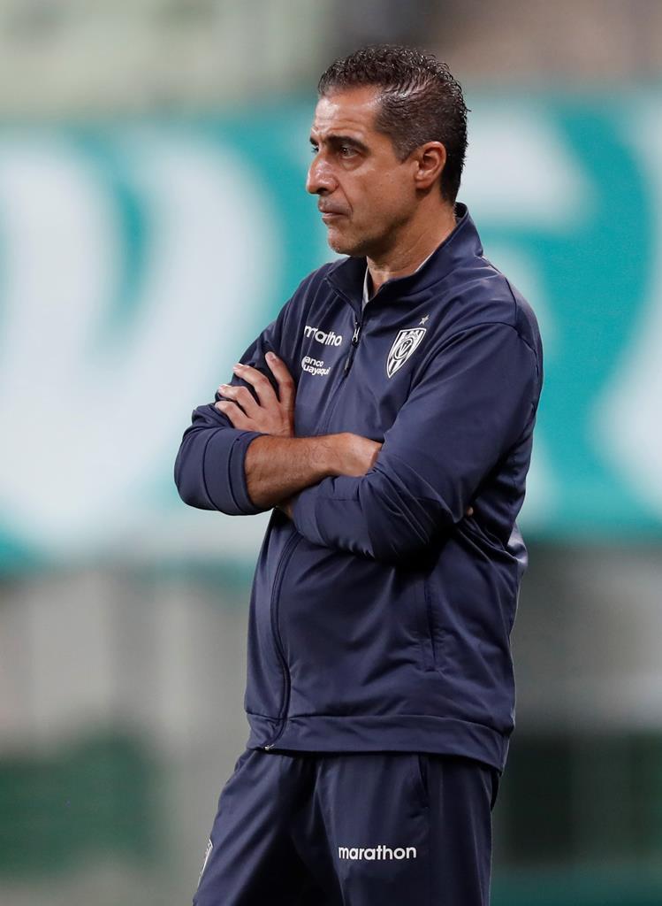 Renato Paiva - treinador do Independiente del Valle Foto: Andre Penner/EPA