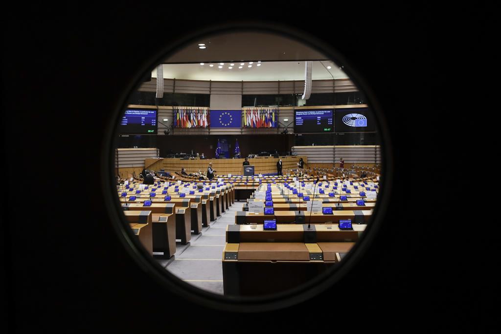 Parlamento Europeu discute o Relatório Matic. Foto: Olivier Hoslet/EPA