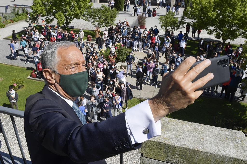 Portugueses preocupados com a corrupção, diz Marcelo. Foto: Fernando Veludo/Lusa