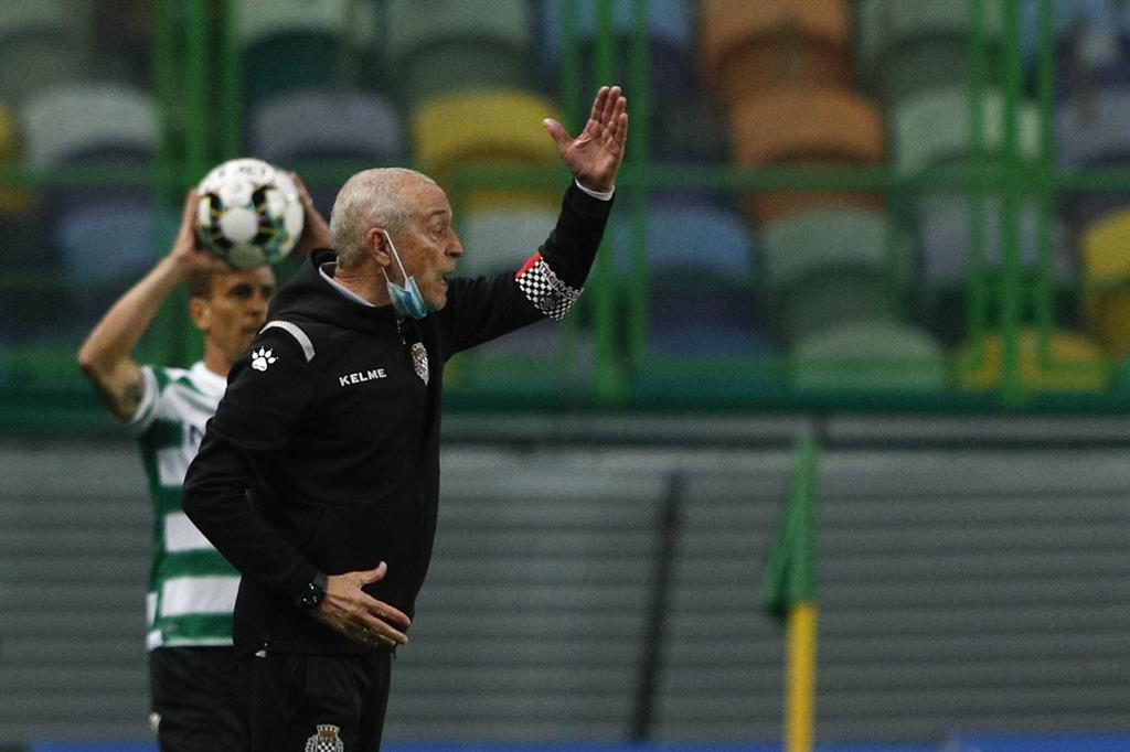 Jesualdo Ferreira congratulou o Sporting pelo título de campeão. Foto: António Cotrim/Lusa