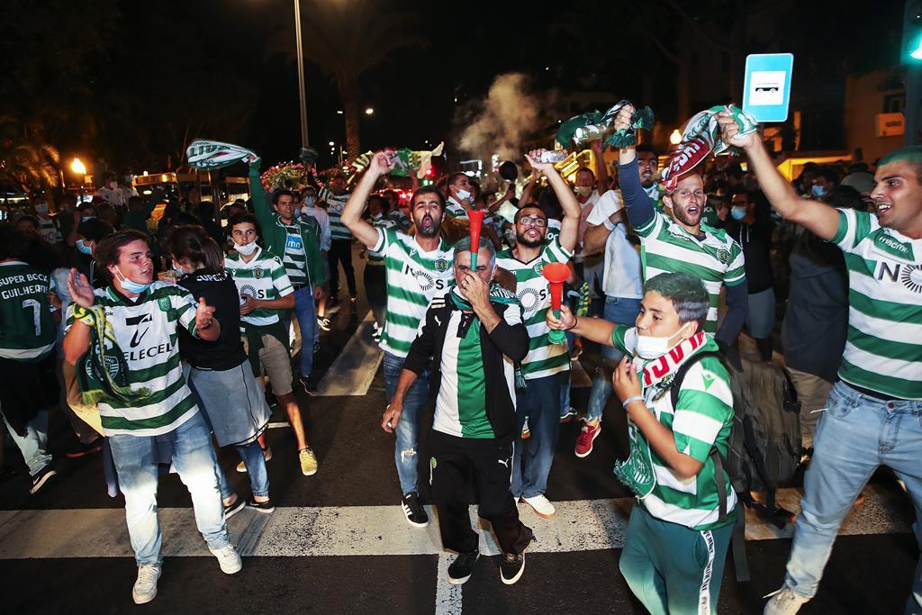 Festa dos leões na Madeira. Foto: Homem Gouveia/Lusa