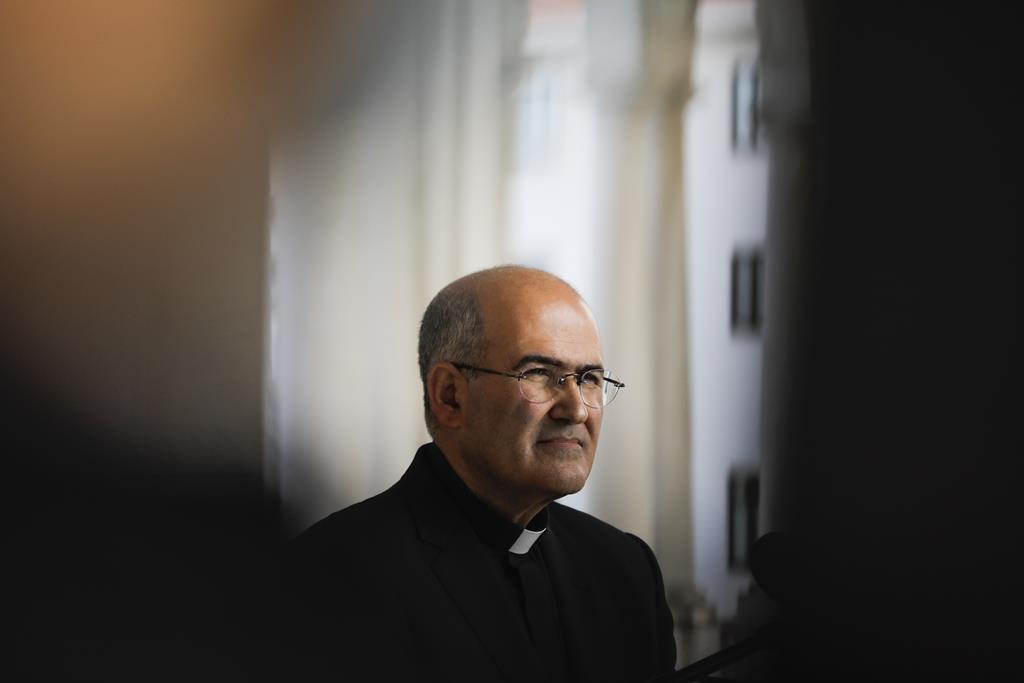 Cardeal D. José Tolentino abre sessão sobre Dante. Foto: Paulo Cunha/Lusa